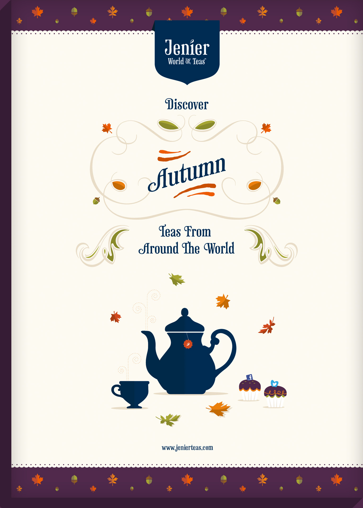 Autumn Teas Poster