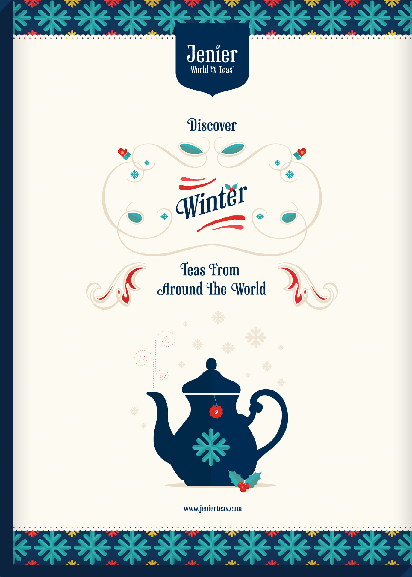 Winter Teas Poster
